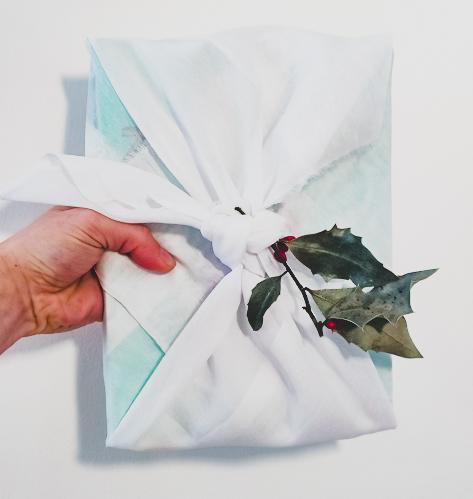 Emballage eco-responsable, le furoshiki